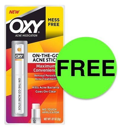 FREE Oxy On-The-Go Acne Stick (After Rebate) at Target {And Most Stores}! ~ Happening Right Now!