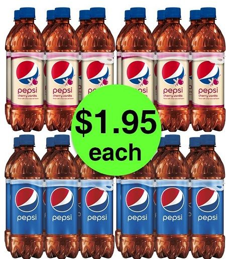 Stop by Target to Nab Pepsi 6 Packs JUST $1.95 Each (Reg. $3.69)! ~ Ends Saturday!