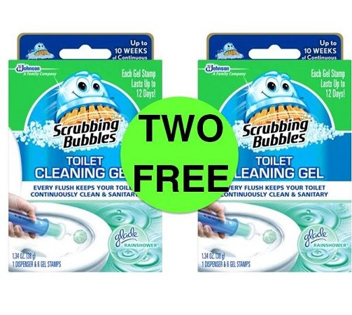 Scrubbing bubbles bathroom cleaner printable coupon
