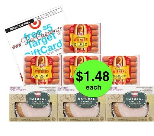 Don't Miss Out on Oscar Mayer Hot Dogs & Hormel Lunchmeat JUST $1.48 Each at Target! ~ Ends Tomorrow!