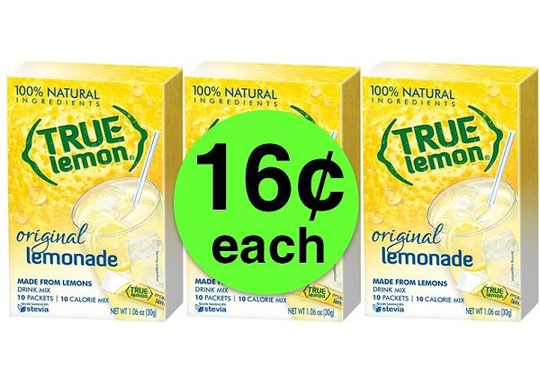 Mix Up 16¢ True Lemon Original Lemonade Packets at Target! ~ Going On Now!