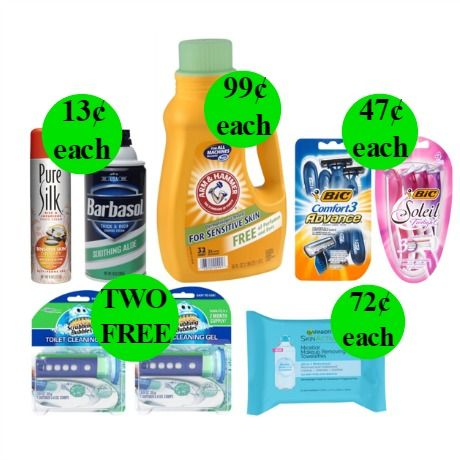 Don't Miss Your TWO (2!) FREEbies & ELEVEN (11!) Deals Just 99¢ or Less at Walgreens!