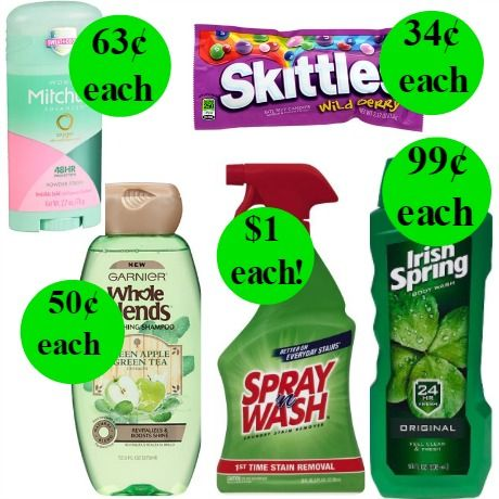 Don't Miss Eleven (11!) Deals Just 99¢ or Less at Walgreens! Ends Saturday!