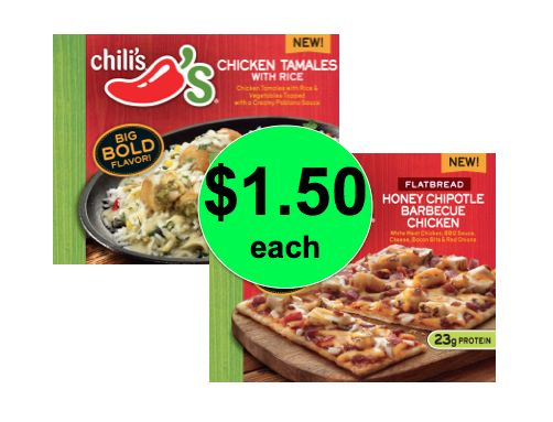 Cheap Lunch This Week! Chili's Frozen Entrees ONLY $1.50 Each at Winn Dixie! ~ Starting Tomorrow!
