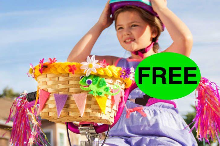 FREE Tangled DIY Bike Basket!
