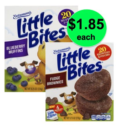 Quick Breakfast Deal, $1.85 Entenmann's Little Bites At Publix! (6/20-7/10 or 6/21-7/11)
