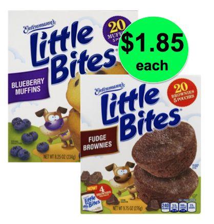 Quick Breakfast Deal, $1.85 Entenmann's Little Bites At Publix! (6/20-7/10 or 6/21-7/11)