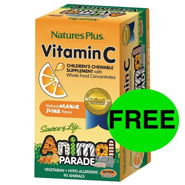 FREE Vitamin C Children's Chewables!