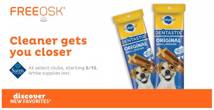 FREE Dentastix at Sam's Club!
