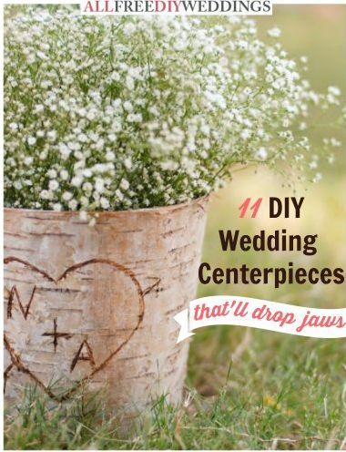 FREE DIY Wedding Centerpieces eBook!