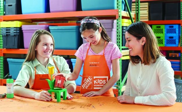 FREE Kids Workshop at Home Depot! Perfect for Mother's Day!