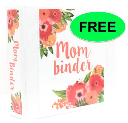 FREE Mother's Day Binder!