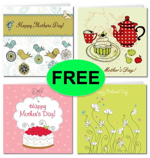 FREE Mother's Day Printable Cards!