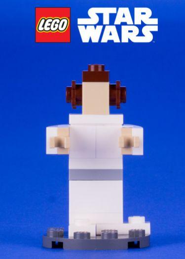 FREE Star Wars LEGO Princess Leia!