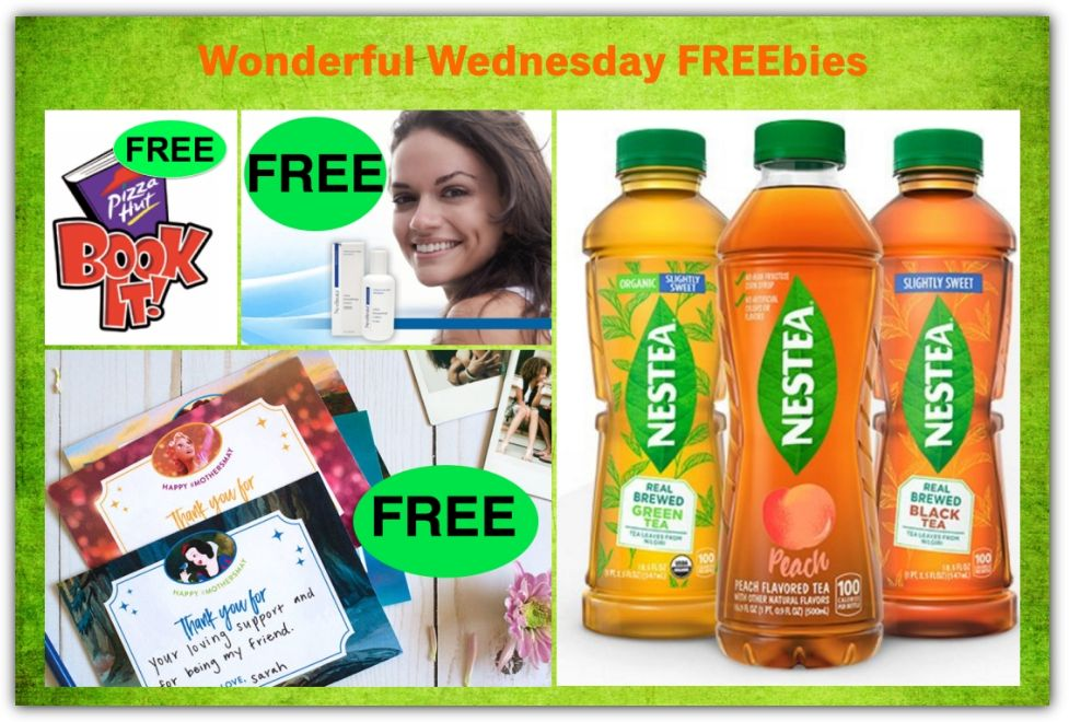 FOUR FREEbies: Disney Princess Printable Mother's Day Cards, NeoStrata Ultra Smoothing Lotion, Pizza from Pizza Hut Book It Program and Nestea Ice Tea Full-Size Bottle!