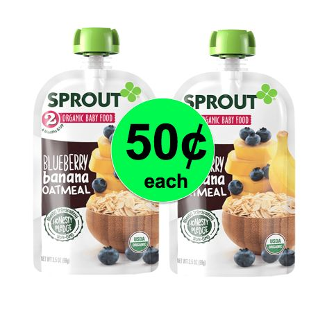 Oh Baby! Pick Up 50¢ Sprout Organic Baby Food at Publix! ~ Ends Wednesday!