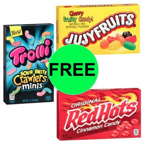 FREE Theater Box Candy at Walgreens! ~ Starts Today!