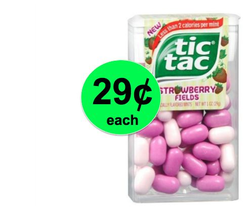 Minty Fresh Breath with Tic Tac Mints Only 29¢ Each at Walgreens! ~ This Week!