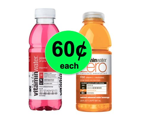 Stay Hydrated with VitaminWater ONLY 60¢ Each at Winn Dixie! ~ Right Now!