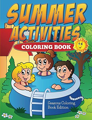 FREE Summer Activities Coloring Book!