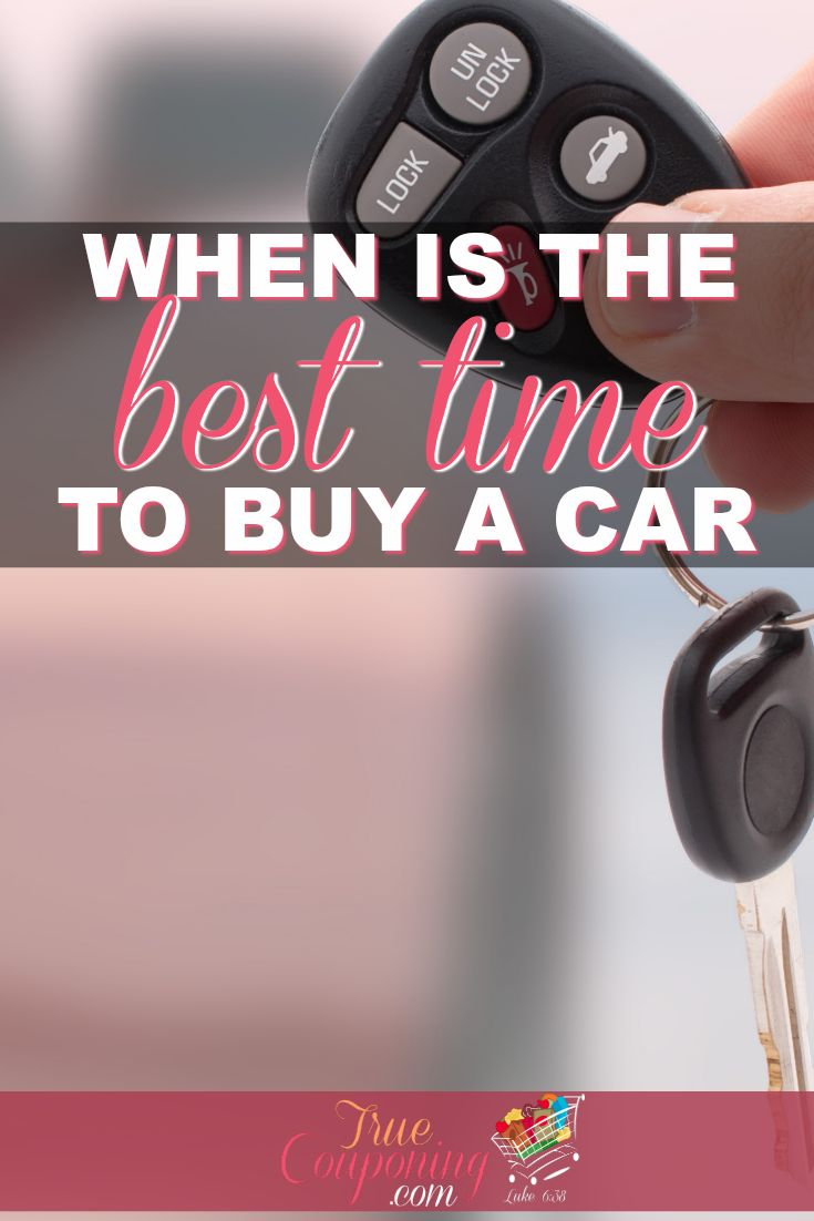 Ever wonder when it is the best time to buy a car? I've cut through the confusion with some clear-cut strategies you can use when buying a car.