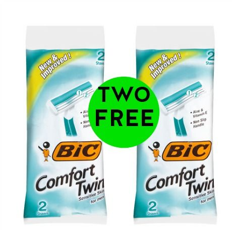 Hey Guys! Here's a Deal for You! Pick Up TWO (2!) FREE Packs of BIC Comfort Twin Razors Right Now at Walgreens!