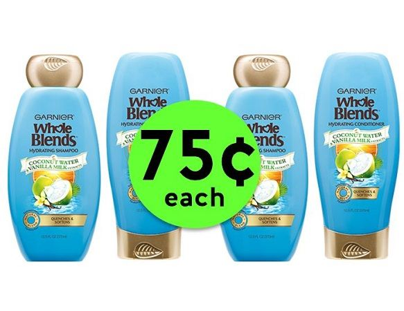 Stock Up on Garnier Whole Blends Hair Care JUST 75¢ Each at CVS! ~ Starts Sunday!