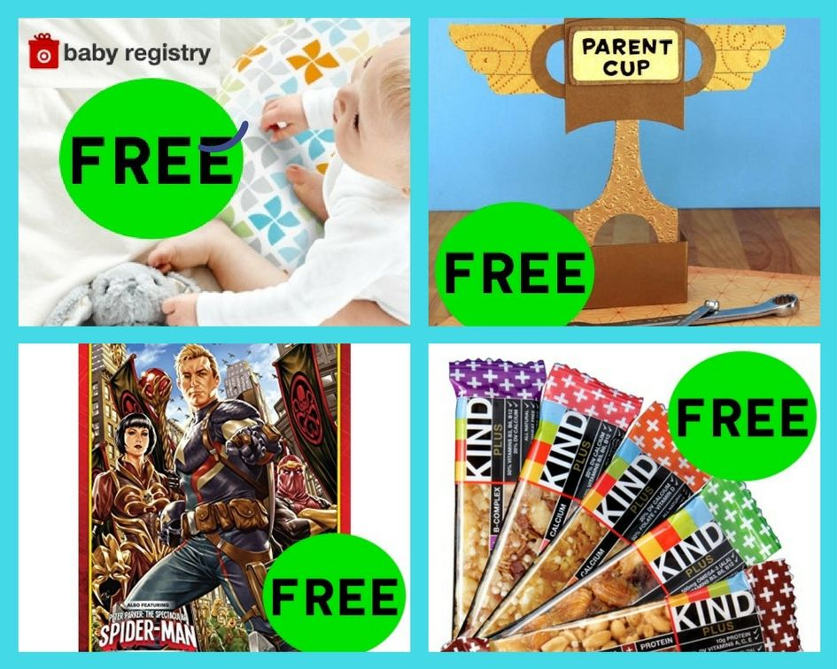 FOUR (4!) FREEbies: $60 Welcome Bag + RARE Coupons at Target, Dad's Parent Cup Printable, Secret Empire Comic Book and Kind Bars!