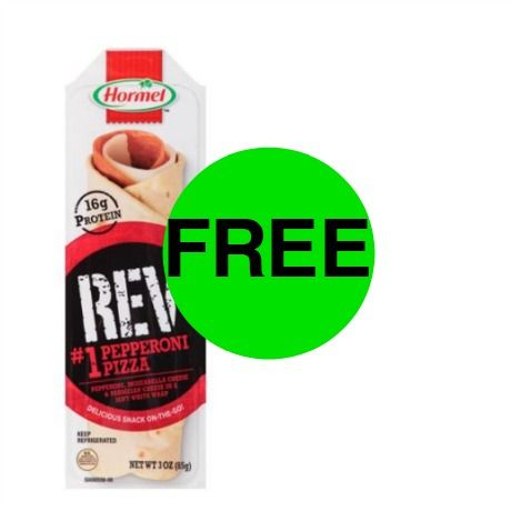 Snack Time! Print Your Coupon for FREE Hormel REV Wrap at Walmart! ~ Right Now!