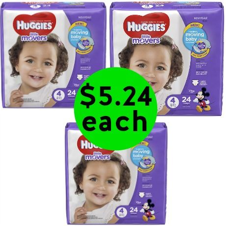 Get Huggies Diapers or Pull-Ups for Only $5.24 Each at Walgreens! ~ Right Now!
