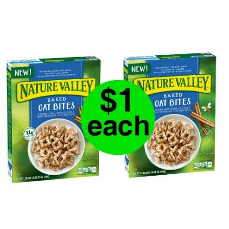 CHEAP CEREAL! Get Nature Valley Cereal Only $1 Each at Walgreens! ~Right Now!
