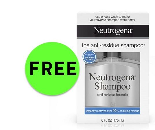 Print NOW for FREE Neutrogena Anti-Residue Shampoo at Publix! ~ Starts Weds/Thurs!