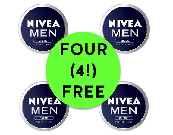 FOUR (4!) FREE Nivea Men's Cream Tins {Great Gift For Dad!} at Target! ~ Ends Sunday!