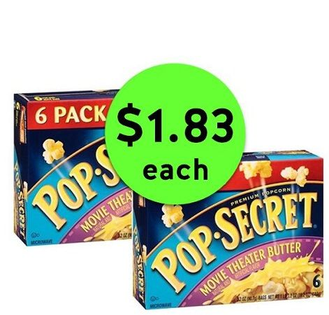 Butter Your Family Up with $1.83 Pop-Secret Popcorn at Publix! ~ Ends Tues/Weds!