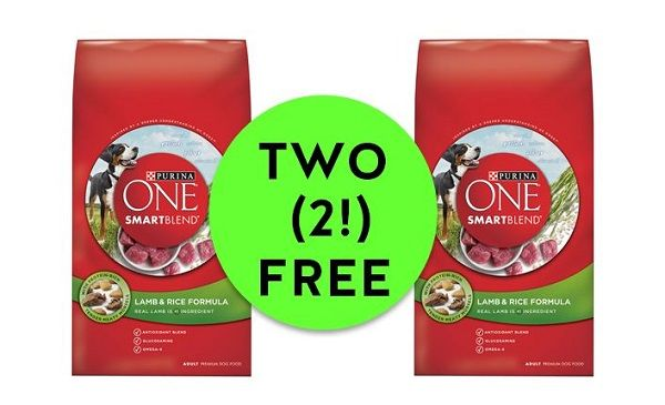 Print NOW for FREE-FREE Purina One Smartblend Dog Food at Publix!!
