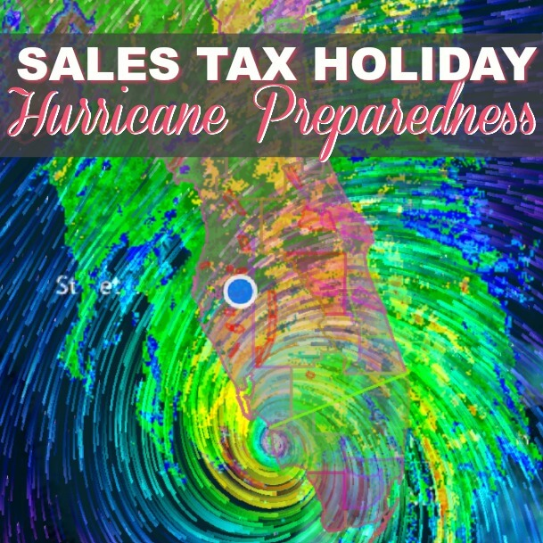 Florida Sales Tax Holiday June 1-7 2018 {Time to Stock Up On Batteries, Flashlights and Candles!}