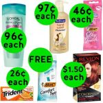 Don't Miss Your TWO (2!) FREEbies & SEVEN (7!) Deals Only 99¢ or Less at Walgreens! ~ Ends Saturday!