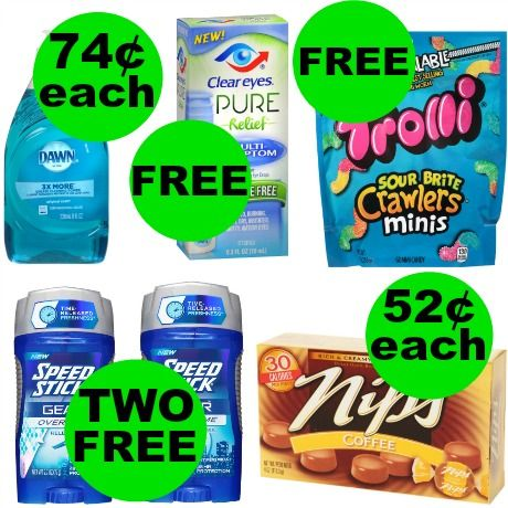 Don't Forget Your FOUR (4!) FREEbies & NINE (9!) Deals Just 74¢ Each or Less at Walgreens! ~ Ends Saturday!