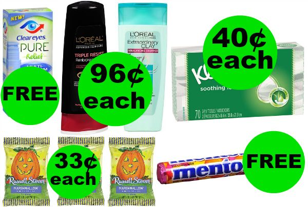 Don't Miss Your TWO (2!) FREEbies & SEVEN (7!) Deals Just 61¢ Each Or Less This Week at Walgreens!