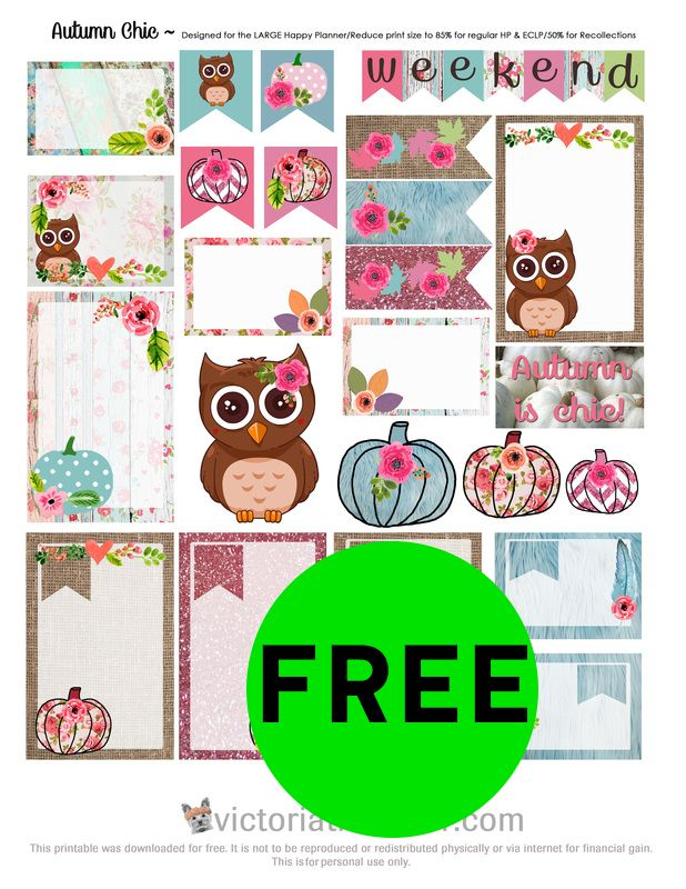 FREE Planner Printables Plus Other FREE Printables!