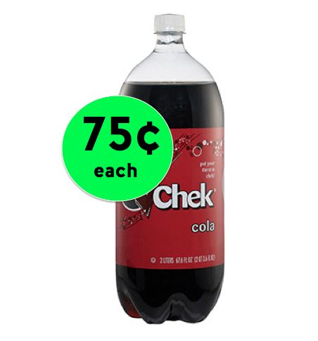Stock Up on Chek Soda! ONLY 75¢ Each at Winn Dixie {NO Coupon Needed}! ~ Starting Today!