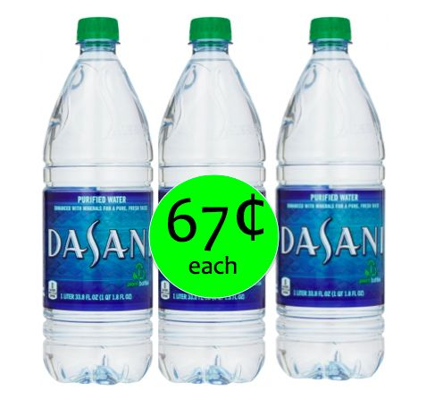 Quench Your Thirst with THREE (3!) Dasani Waters Only 67¢ Each Right Now Walgreens!
