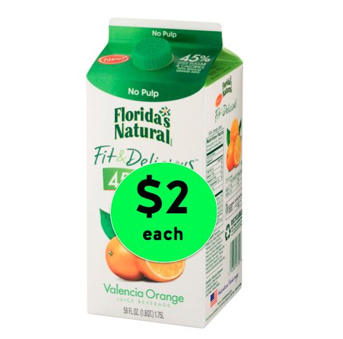 Liquid Vitamin C! Get Florida's Natural Fit & Delicious Juice Only $2 Each at Winn Dixie! ~Right Now!