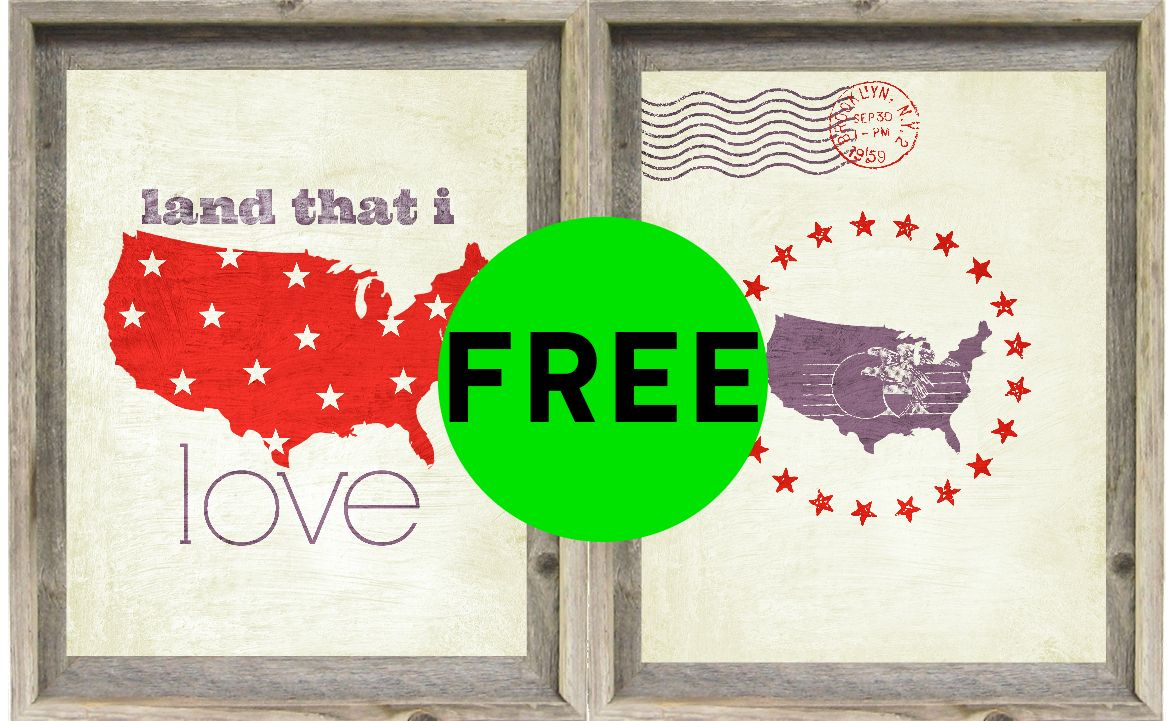 FREE 4th of July House Decor Printables!