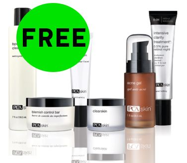 Did You Request Your FREE PCA Skin Acne Treatment?
