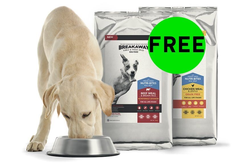 FREE Breakaway Dog Food!