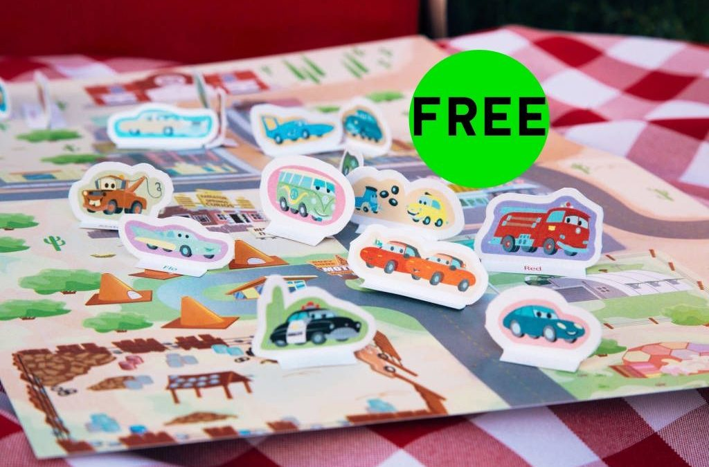 FREE Cars Radiator Springs Playset!
