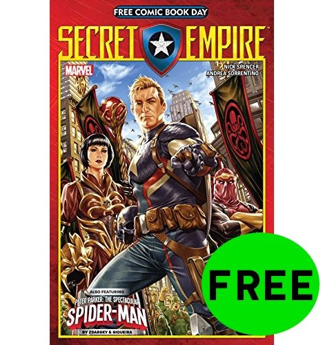 FREE Secret Empire Comic Book!