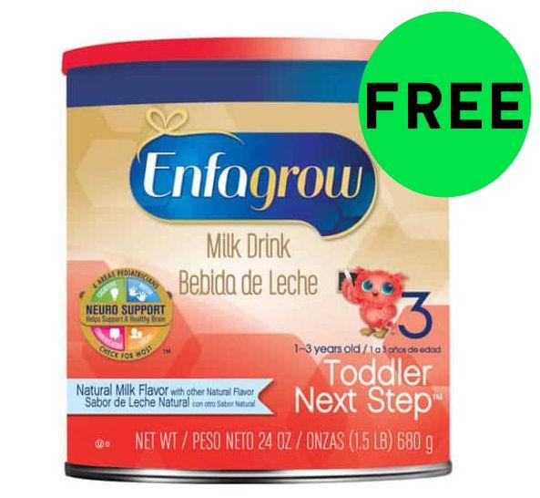 FREE Enfamil Toddler Next Step Formula!