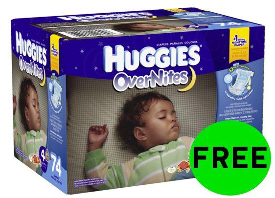 FREE Huggies Overnite Diapers!